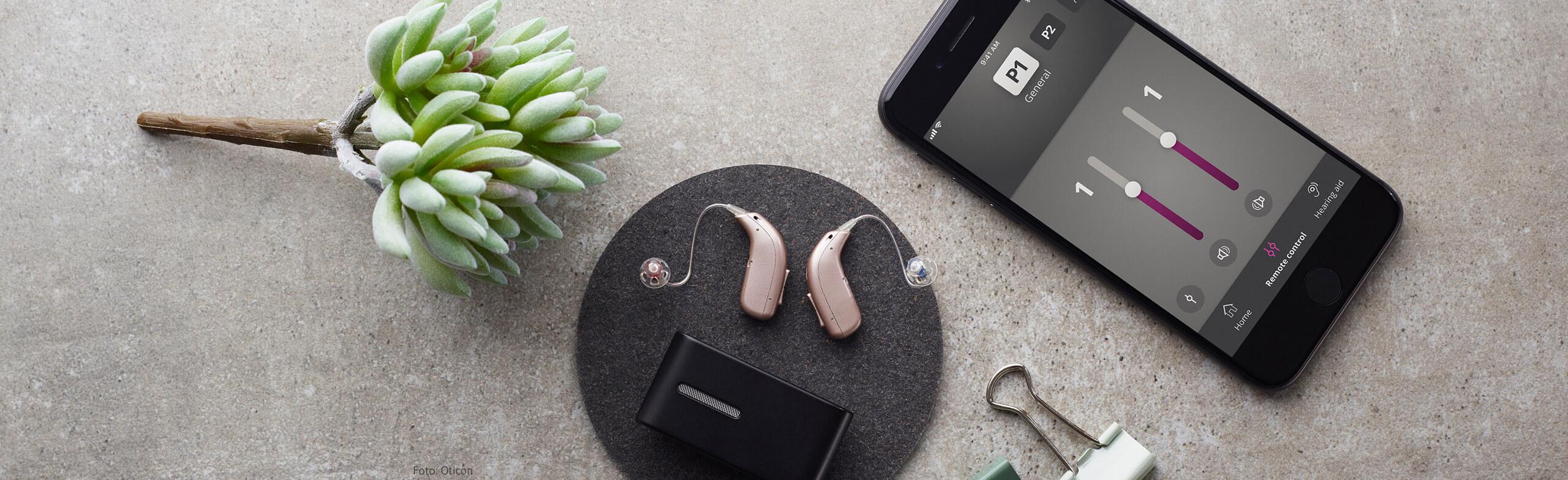 Oticon Opn S = wiederaufladbare Hörgeräte
