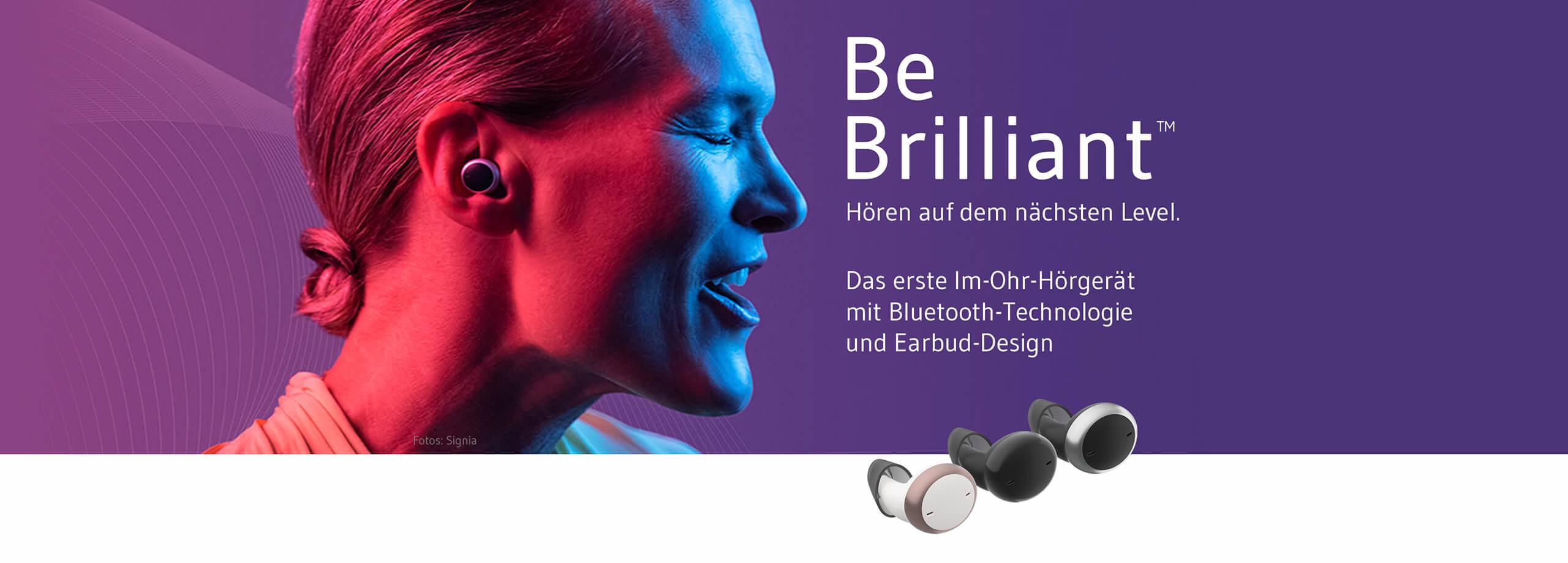 Die neuen Signia-Active-Hörgeräte im Earbud-Design